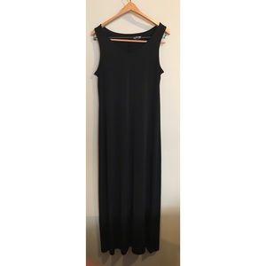 APT 9 Sleeveless Black Maxi Dress